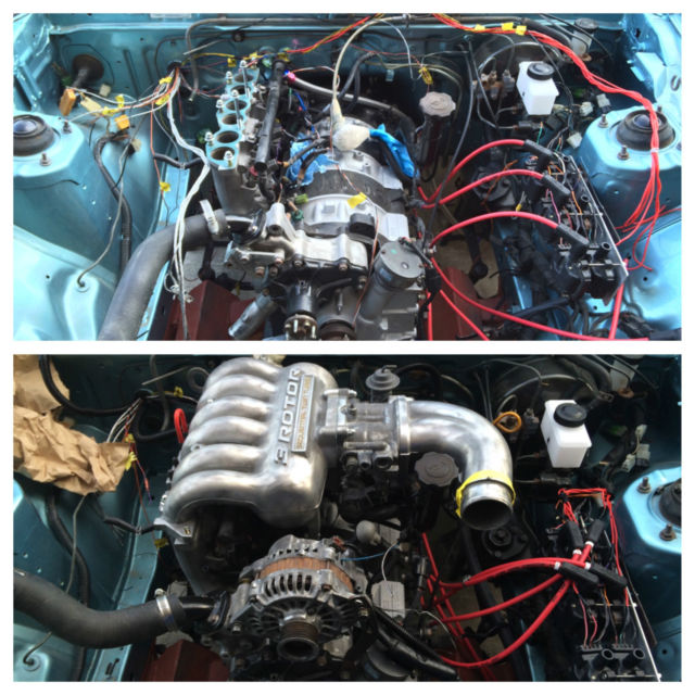 Rx7 Engine Used: 85 Rx7 GSL With 20B 3 Rotor Engine FB SA SA22C FD3S FC3S