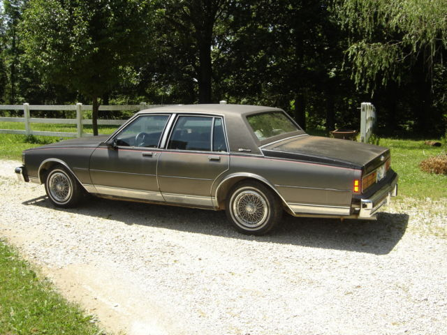 87 chevy caprice classic classic chevrolet caprice 1987 for sale. Black Bedroom Furniture Sets. Home Design Ideas