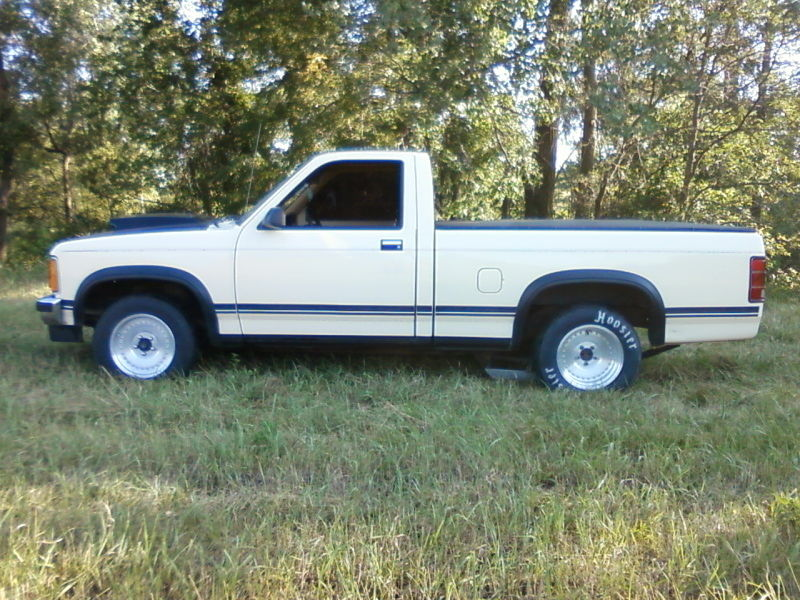 87 dodge dakota street strip pickup truck 406 sbc th350 ford