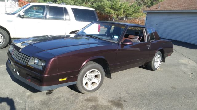 87 monte ss 89 000 with 96 lt1 motor with 45 000 miles you need to install classic chevrolet. Black Bedroom Furniture Sets. Home Design Ideas
