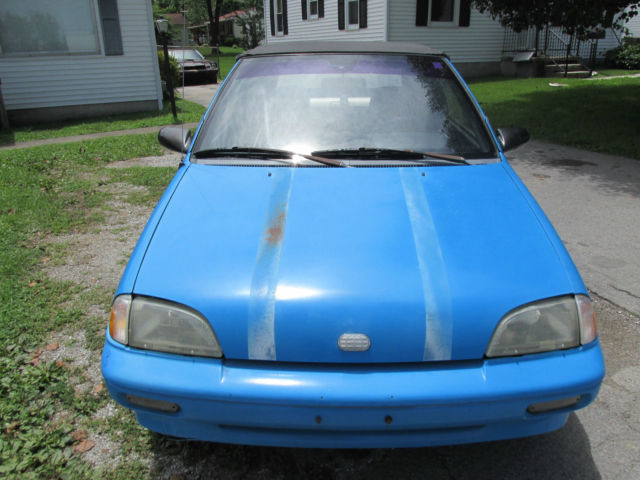91 Geo Metro Convertible Classic Geo Metro 1991 For Sale
