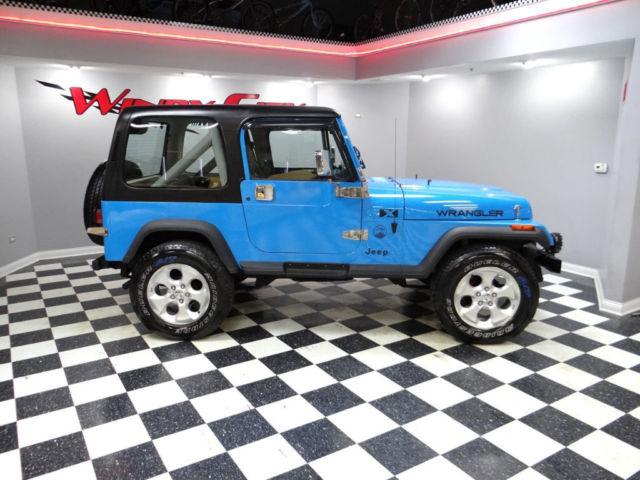 91 jeep wrangler islander 4x4 special edition hardtop. Black Bedroom Furniture Sets. Home Design Ideas