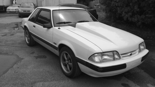 91 Mustang Lx Notchback 5 0 Stroker Classic Ford Mustang
