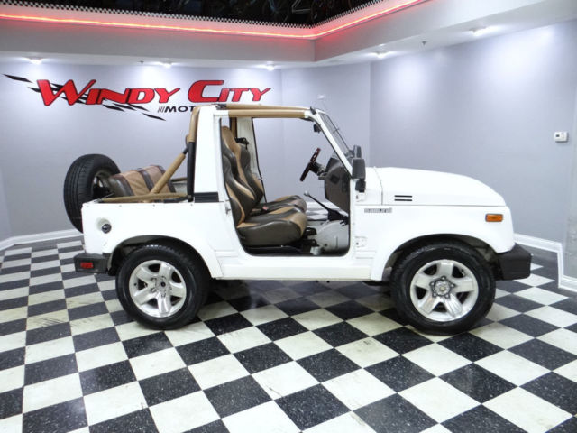 91 suzuki samurai js soft top 5 spd lo miles rust free tx truck custom interior classic. Black Bedroom Furniture Sets. Home Design Ideas