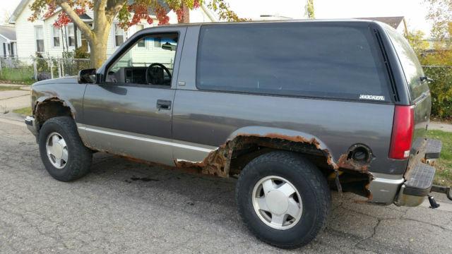 Two Door Tahoe For Sale >> 92 Blazer Full Size Two 2 Door Tahoe Yukon Four Wheel Drive 4WD - Classic Chevrolet Blazer 1992 ...