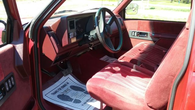 92 Chevrolet Silverado ext cab - Classic Chevrolet ...