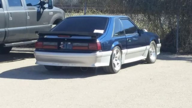 92 Mustang Gt Fox Body Single Gt45 Turbo Intercooler 6pt