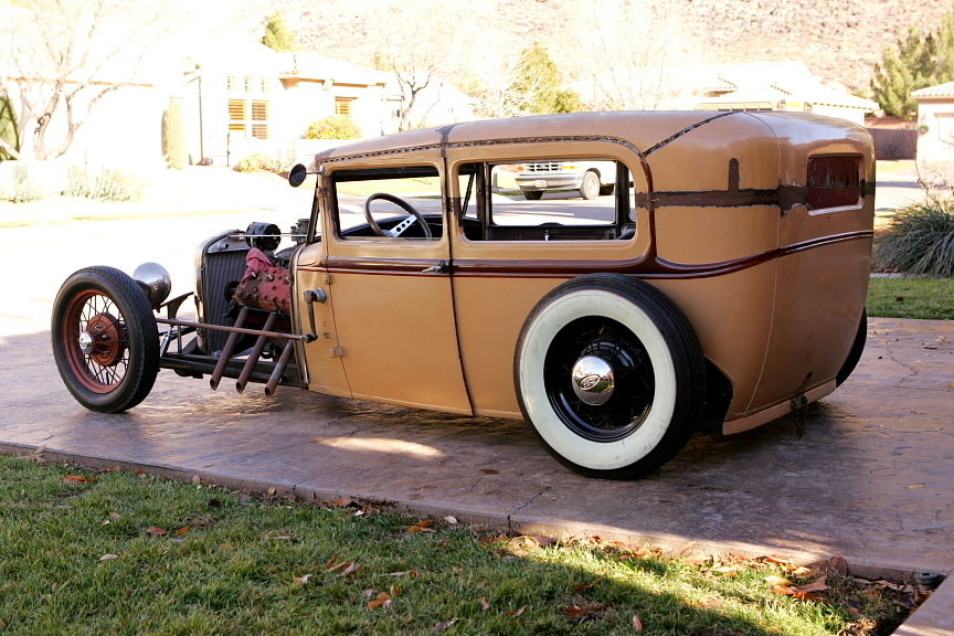 rat rod traditional flathead   classic ford model a 1930 for sale
