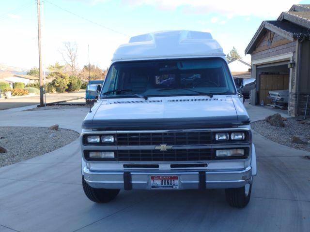 94 Chevy G30 1 Ton Wheelchair Lift Van It Is A G30 Not