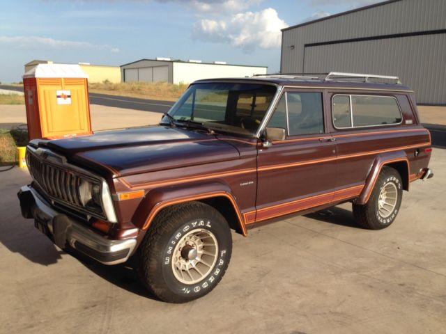 983 jeep cherokee laredo 82k miles one owner survivor. Black Bedroom Furniture Sets. Home Design Ideas