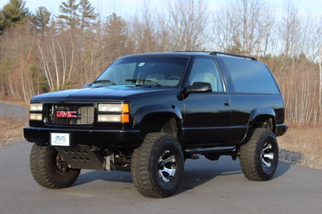 a rare find 94 gmc yukon 2 door a show truck from the. Black Bedroom Furniture Sets. Home Design Ideas