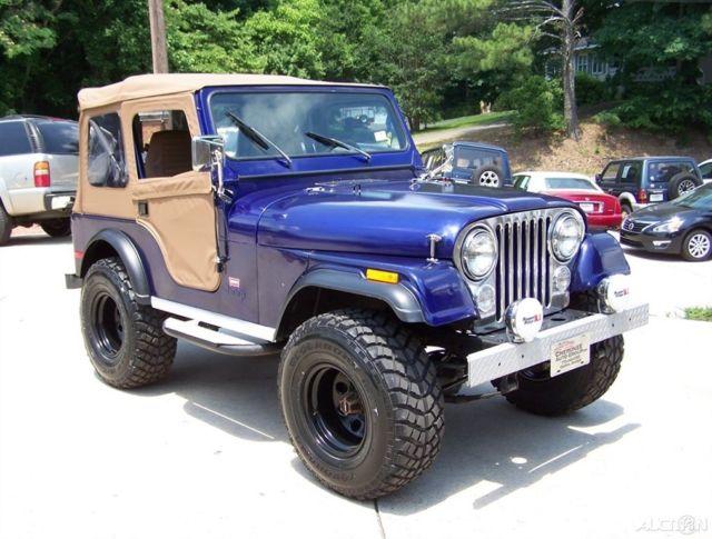 Cars For Sale In Columbus Ga >> A SHARP GEORGIA 4WD BLUE TAN NEW 33s COMP 2 CJ7 CJ5 ...