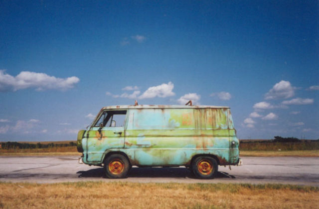 Dodge Work Van >> Actual Mystery Machine Van from the movie Jay and Silent Bob Strike Back - Classic Dodge Other ...