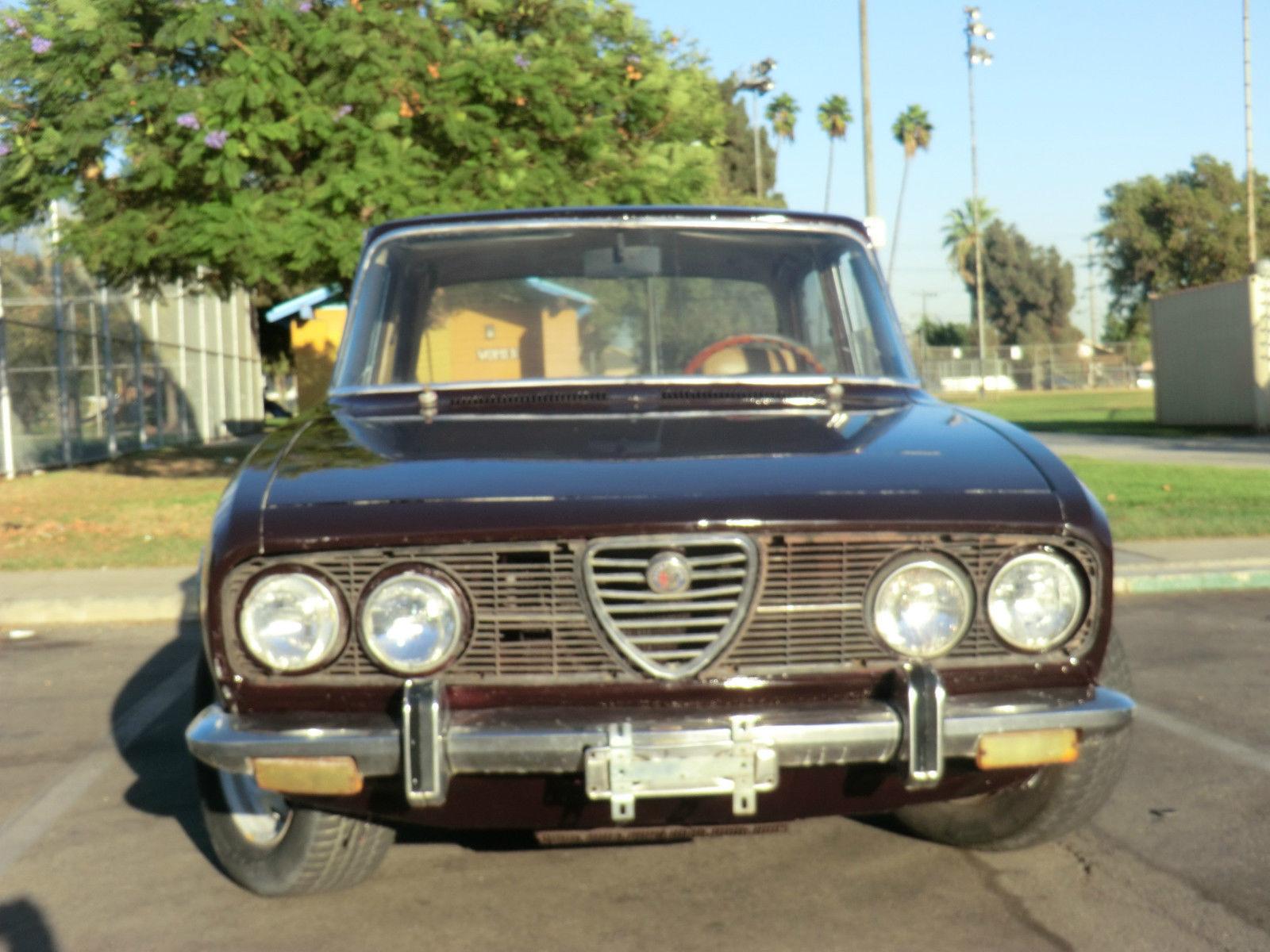 alfa romeo berlina 1972 sedan 2.0l burgundy project - classic alfa