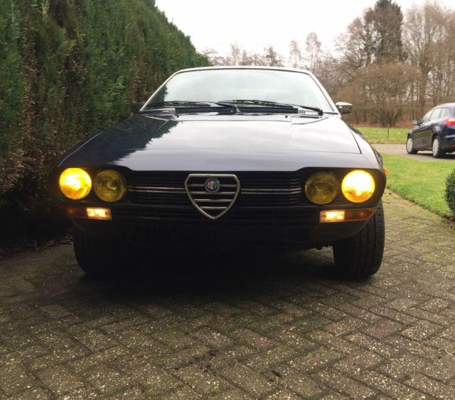 Alfetta Series '76, Blue Ollandese, Good Condition