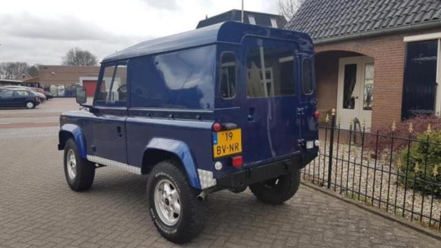 All Original 1st Owner Defender 90td 1988 Technically