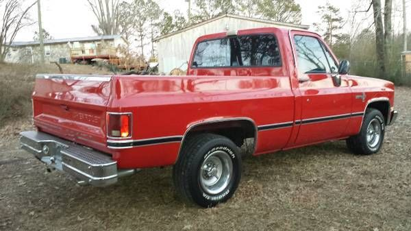 Silverado Short Bed Truck For Sale