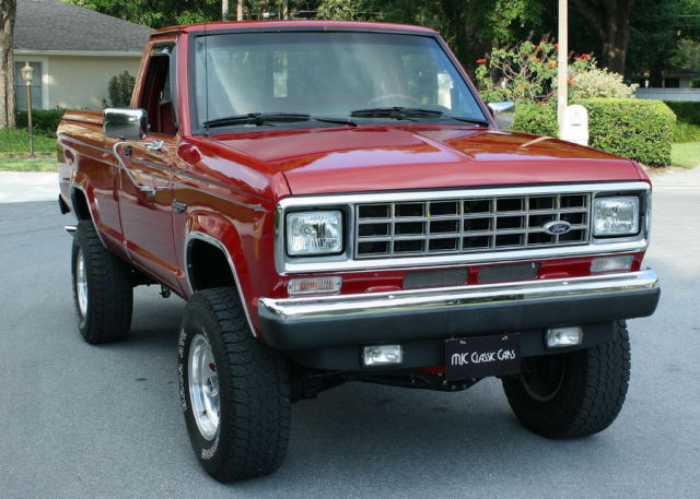 Amazing Restored Rust Free Virginia 4x4 1988 Ford Ranger