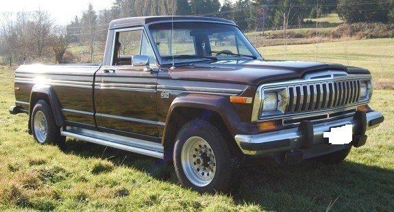 AMC Jeep J20 Pickup Truck 4x4 3/4 Ton - Classic Jeep Other ...