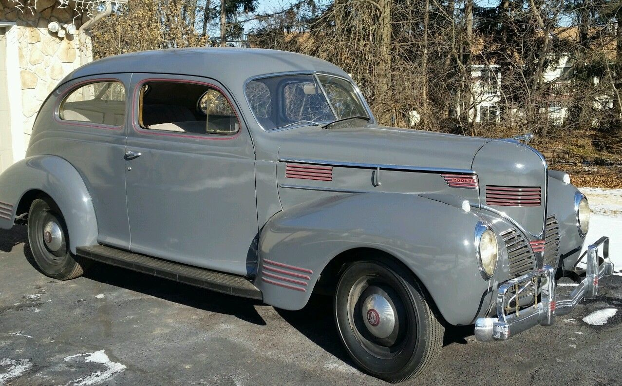 antique 1939 dodge luxury liner special d11 2 door sedan