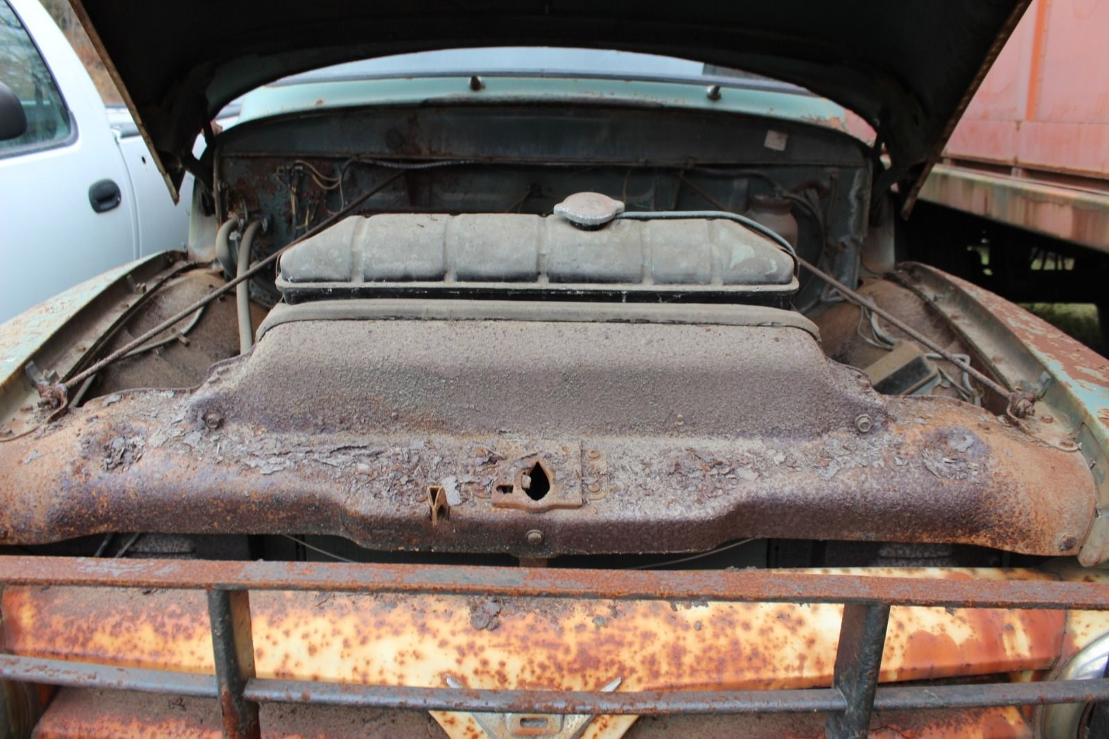 Antique 1953 Ford F 600 Dump Truck Flathead V 8 All Original 1970 F500 Prevnext