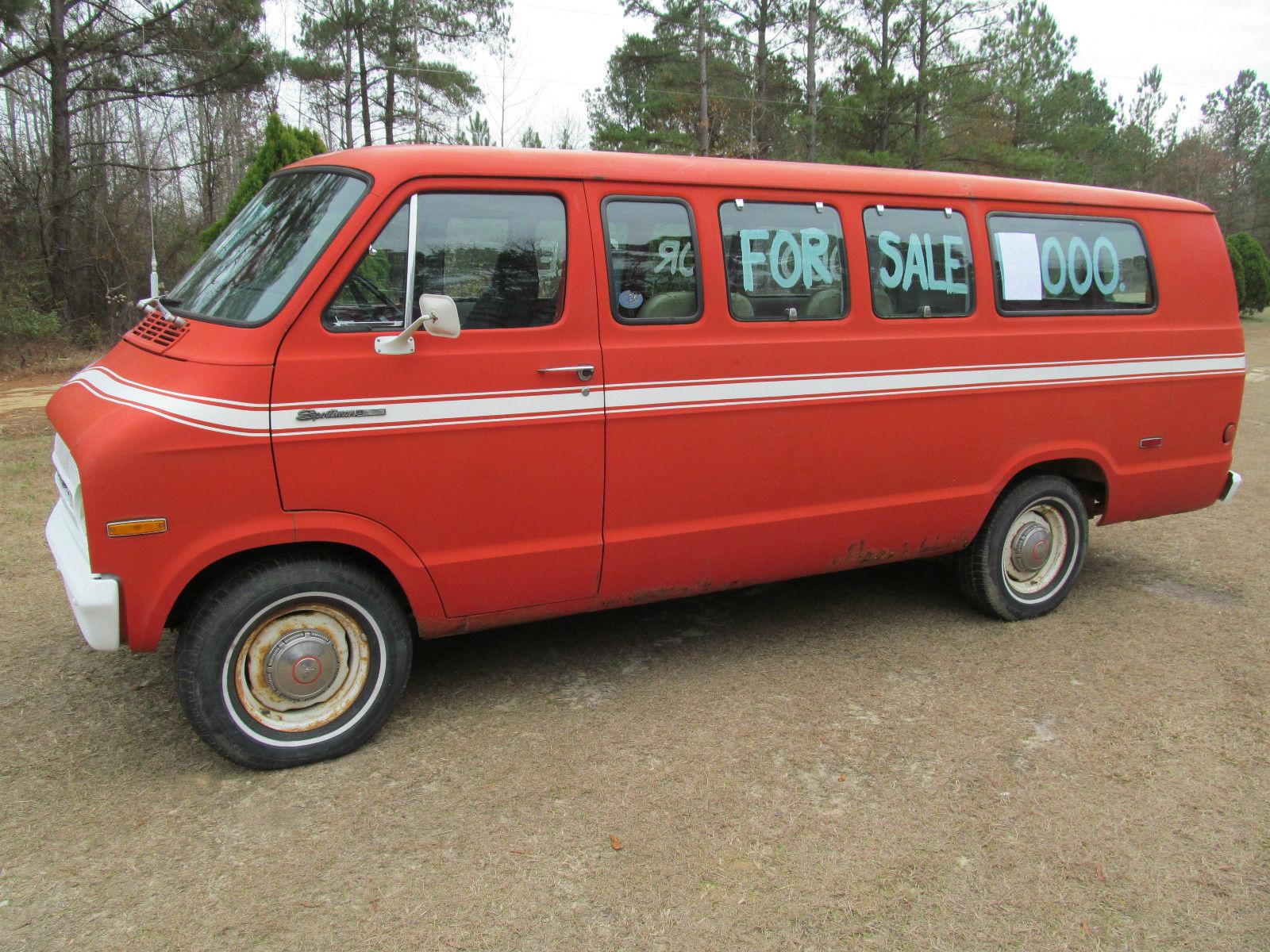Dodge Work Van >> Antique Dodge Sportsman 1971 Van Wagon - Classic Dodge  Other 1971