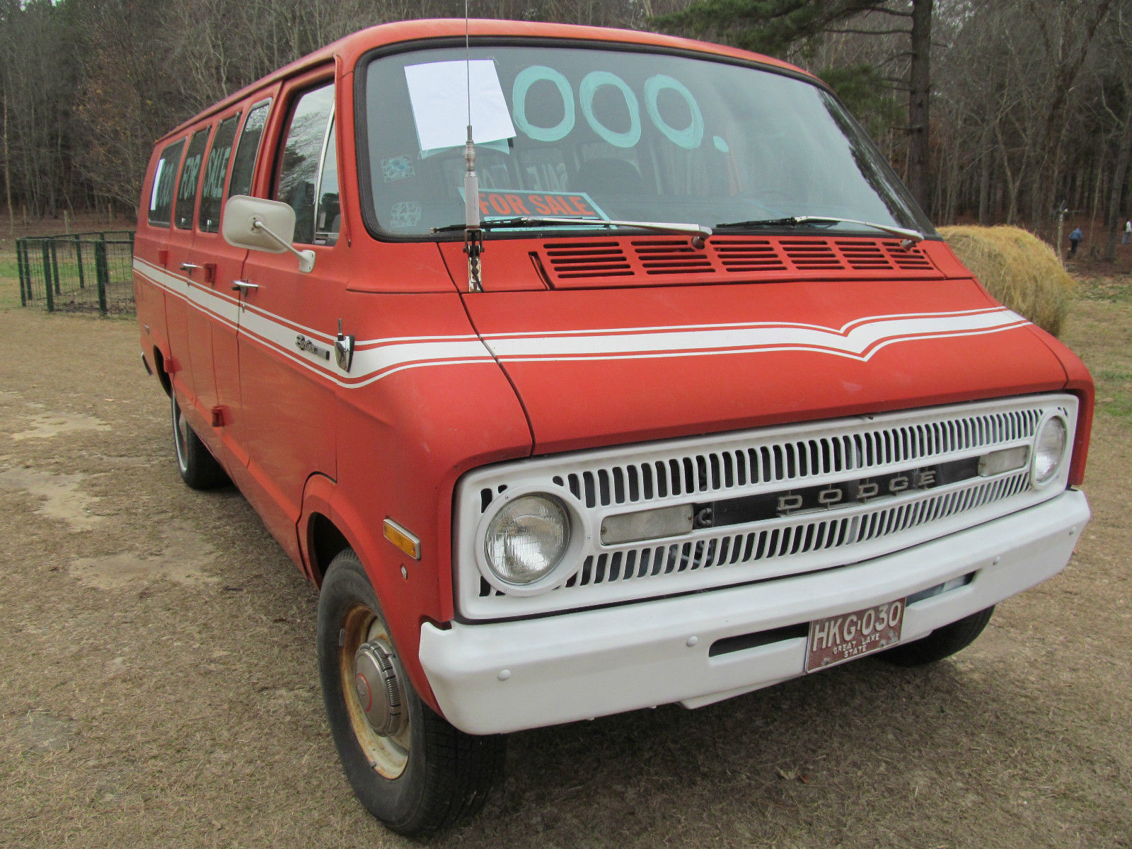 Antique Dodge Sportsman 1971 Van Wagon Classic Other 1969 Camper