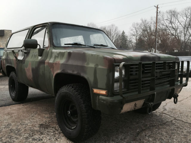 Chevy 6.2 Diesel Truck For Sale >> Army Surplus Military Chevrolet K5 Blazer M1009 CUCV 4x4 truck - Classic Chevrolet Blazer 1986 ...