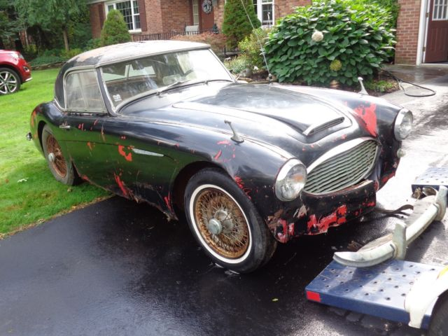 austin healey 100 6 with hard top no reserve classic austin healey 100 6 1959 for sale. Black Bedroom Furniture Sets. Home Design Ideas