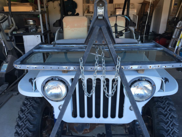 Willys Jeep Truck For Sale >> Awesome Retro-mod Rebuilt Willys CJ2A with Browning 1919 mount - Classic Jeep CJ 1946 for sale