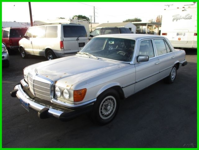 B 1975 mercedes benz 450sel 4 door sedan 8 cylinder for B series mercedes benz
