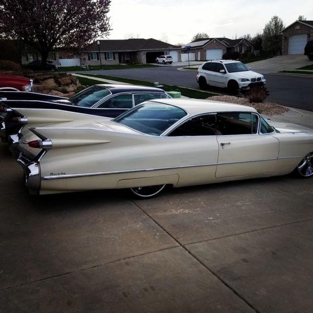 Bagged Twin Turbo 1959 Cadillac Show Car Custom Hotrod Rat