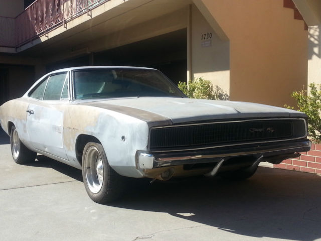 barn find unrestored numbers matching genuine 68 charger r t classic dodge charger 1968 for. Black Bedroom Furniture Sets. Home Design Ideas