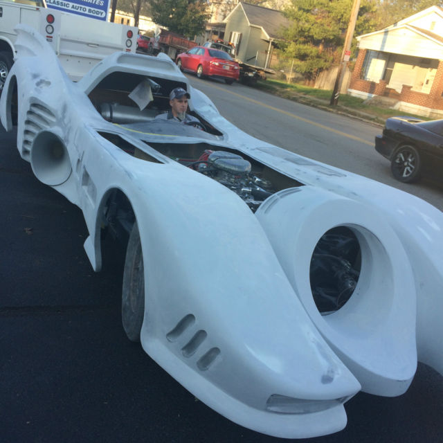 Batmobile Project Car Ready To Finish Full Size Car Not A