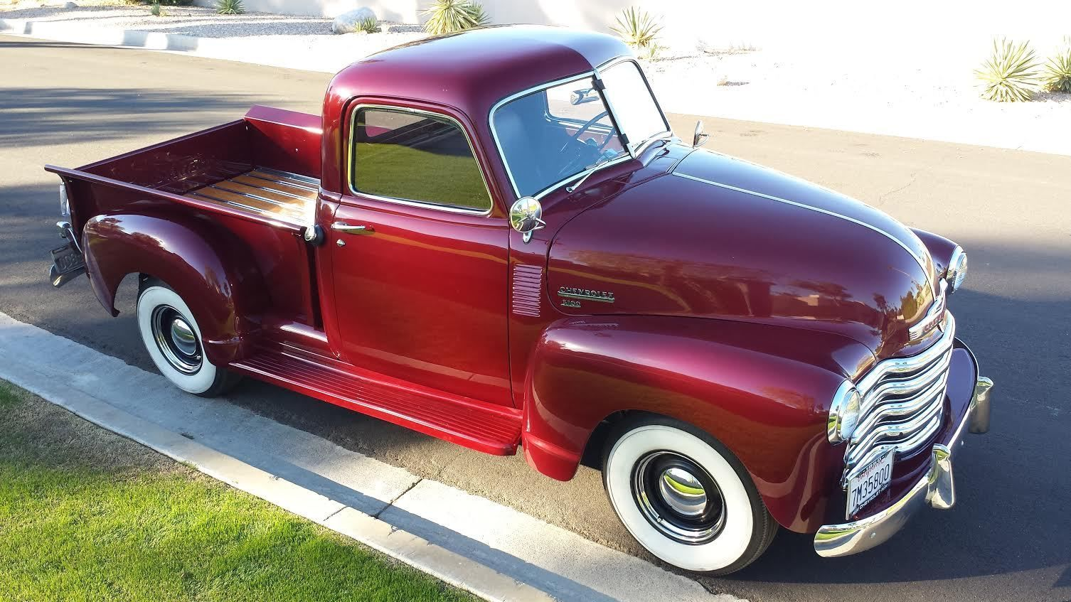 Beautiful 1950 Chevrolet 3100 Shortbed Pickup 1947 1948 1949 1951 Chevy Truck Paint Colors Other Pickups Deluxe