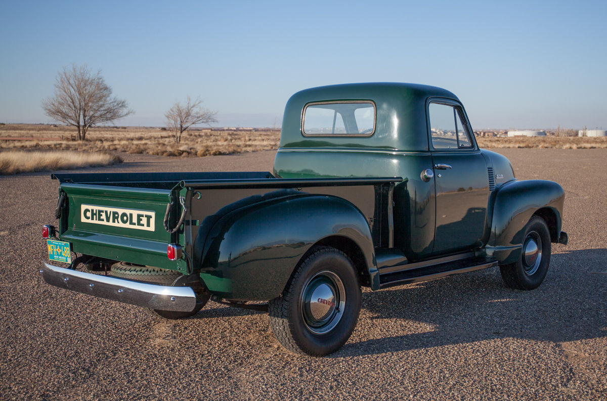 1951 Chevy Truck Crew Cab Wiring Diagrams 1954 Beautiful Chevrolet 3100 Shortbed Restored 1970 Regular