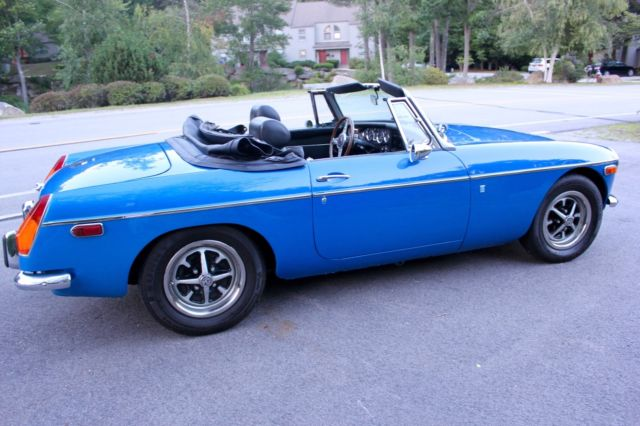 355848 Beautiful 1972 Blue Mgb Roadster In Great Condition on 1979 mgb roadster