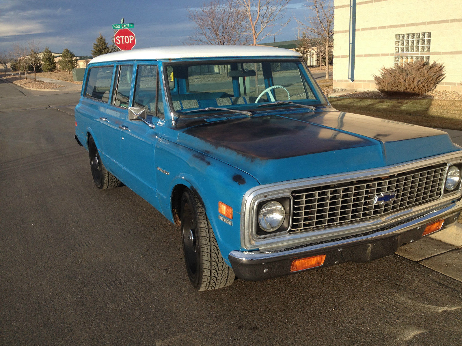 Beautiful 1972 Chevy Suburban C20 3 4ton Protecto Plate Survivor 1968 4x4 Ca Truck