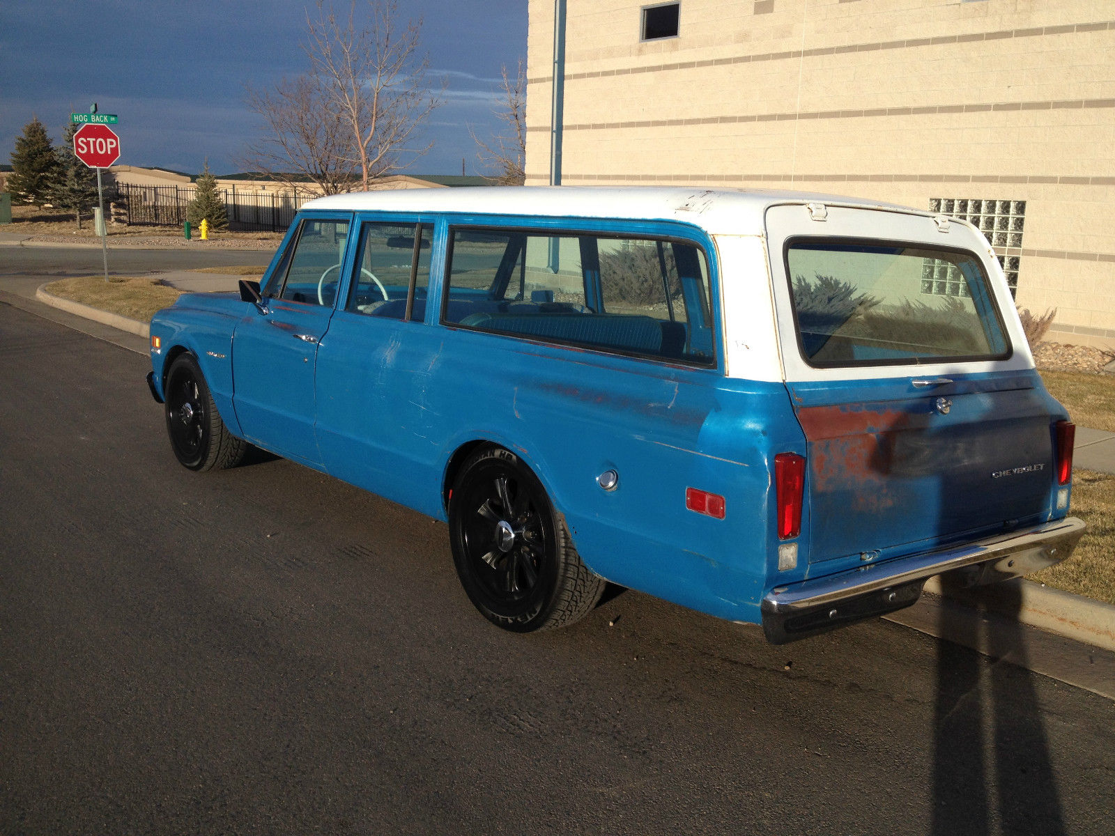 Beautiful 1972 Chevy Suburban C20 3 4ton Protecto Plate Survivor 1968 4x4 Chevrolet Prevnext