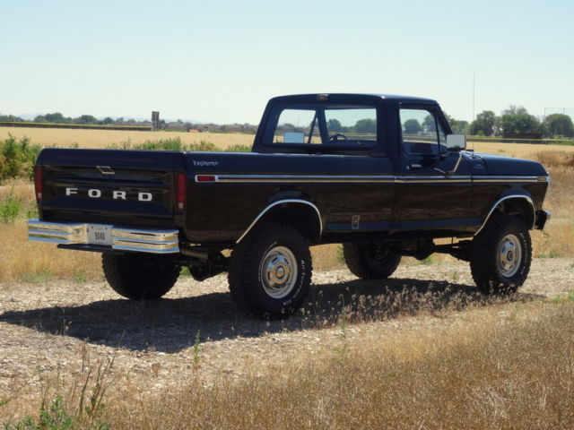 Beautiful 1979 Ford F250  Explorer Custom Package  4x4