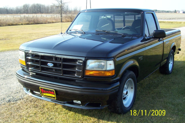 beautiful black 1993 ford f150 lightning look classic. Black Bedroom Furniture Sets. Home Design Ideas