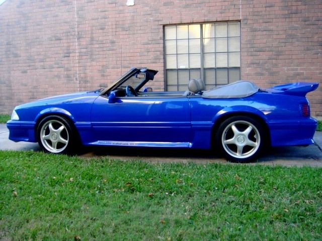 1989 Ford Mustang GT & BEAUTIFUL CUSTOMIZED 1989 FORD MUSTANG GT 5.0 FOX BODY SHAVED ... Pezcame.Com