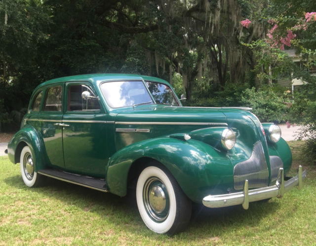 Beautiful Original 1939 Buick Classic Car For Weddinglimo Photos