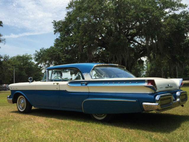 Beautiful original 1957 mercury hardtop with a c 1950 39 s for 1955 mercury monterey 4 door