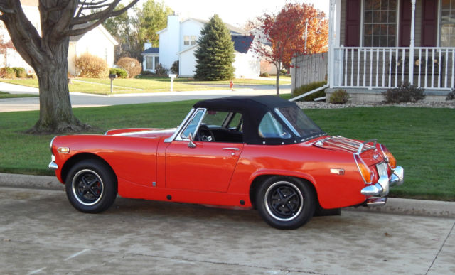Are 1977 mg midget blower motor