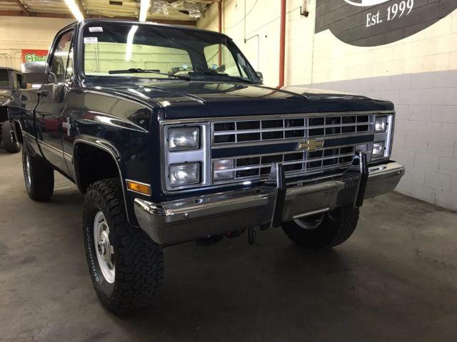 Chevrolet K20 4x4 For Sale >> Beautiful restored 1987 Chevrolet K20 4X4 SILVERADO 100% RUST FREE CA TRUCK - Classic Chevrolet ...