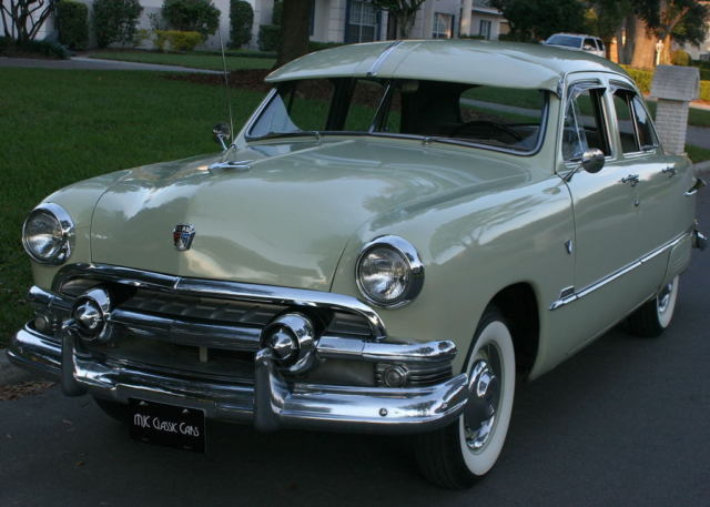 Cost To Repaint A Car >> BEAUTIFUL RESTORED SHOEBOX - 1951 Ford Deluxe Tudor - 51K ...