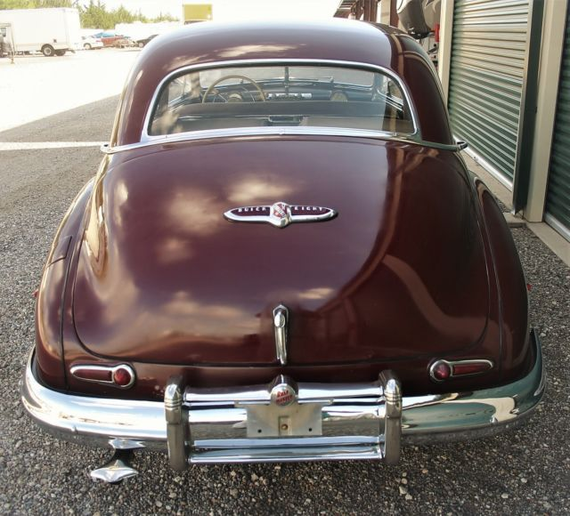 1954 Buick Roadmaster For Sale 1865222: BEAUTIFUL1947 RED BUICK ROADMASTER SEDAN IN VERY NICE
