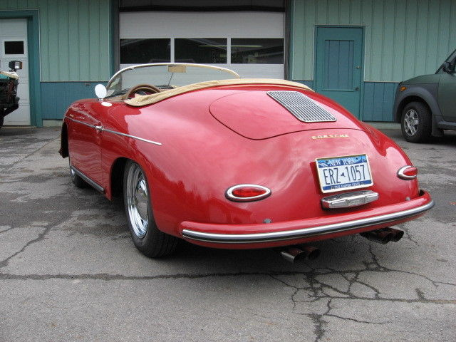 Beck Replica Porsche 356a Speedster Newly Constructed