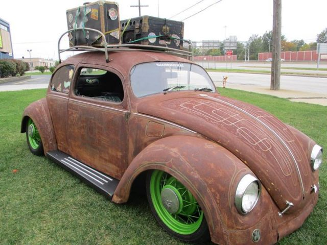 Used Volkswagen Beetle For Sale In Ohio >> Beetle bug hot rod rat ride turbo airride chopped oval window patina - Classic Volkswagen Beetle ...